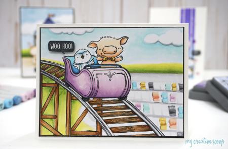Mindy Baxter - Roller Coaster Card