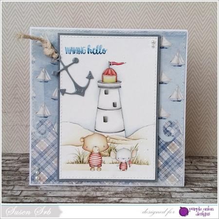 Susen Srb - Lighthouse Card