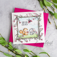 Leanne West - Pecan and Dotty Card