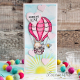 Leanne West - Up and Away Sending Love Card