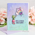 Leeanne West - Goldie Magical Birthday Card