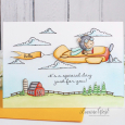 Leanne West - T-Bird Farm Card