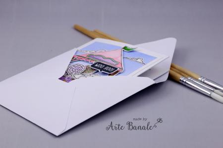 Agnieszka Danek-Wisniak - Fair Booth and Wooley front in envelope