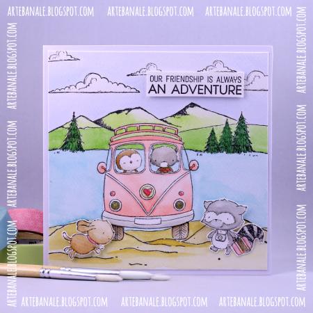 Agnieskska Danek-Wisniak VW Julia Buddy Adventure Friendship Card