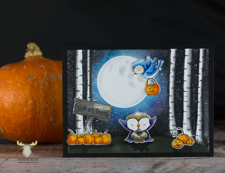 Sandrabischoff birchtree spook little boo
