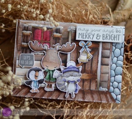 Martina Perfetti_ Douglas & Mistletoe & Spruce's Card