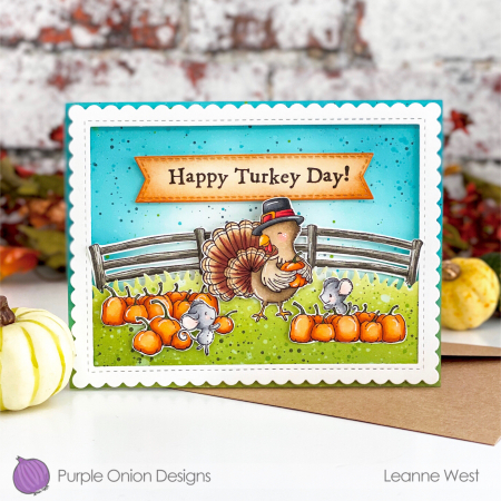 Leanne West - Rosemary Turkey Card