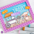 Leanne West - Pinky Cotton Candy Treat Card