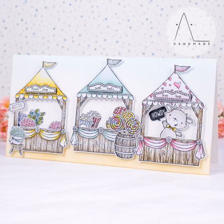 Anna lorenzetto - sunny meadow fair - fair booth with accessories and billy - 1