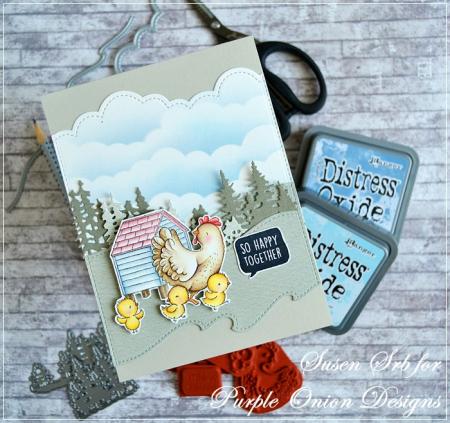 Susen Srb_Eloise & Chicks & Hen House