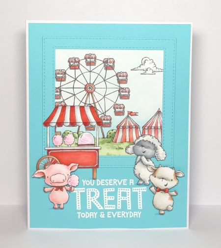 Kara Pogreba - Pinky Billy Cotton Candy Cart Treat Fairgrounds Card2