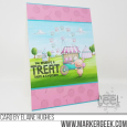 Elaine Hughes - Pinky Cotton Candy Treat Marquee Fairgrounds card