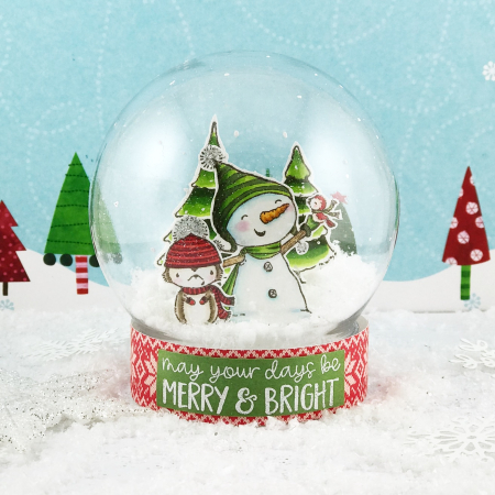 Amy Yang - Bianca Neve and Erica Snow Globe