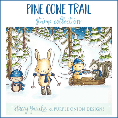 Pine Cone Trail - Graphic with border