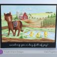 Kara Pogreba - Misty Farm Horizon Card