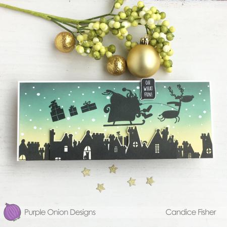 Candice Fisher - Santa silhouette