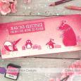 Christina Boh - Pink Winter Silhoutte Card
