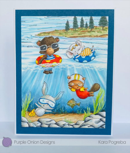 Kara Pogreba - Cosmo Peony Daphe and Ida under water