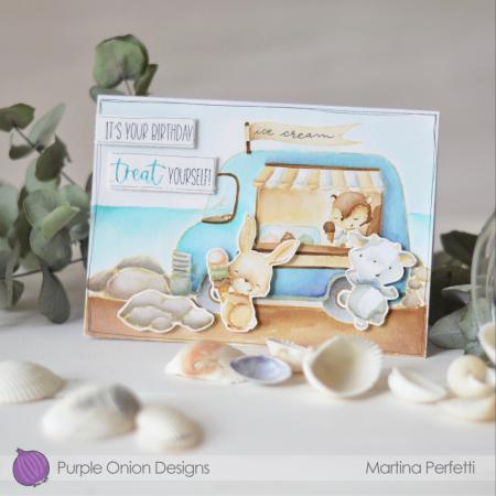 Martina Perfetti_Ice cream truck's card_1