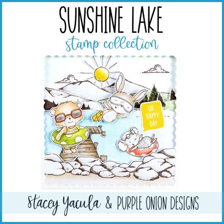 Sunshine Lake Dock Graphic