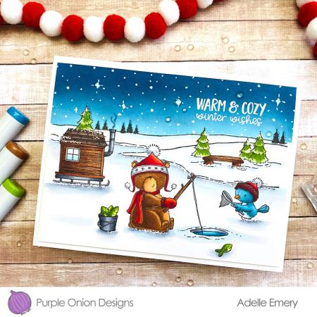 Adelle Emery - Arthur and Wren Frozen Pond