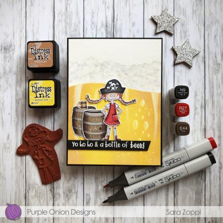 Sara Zoppi - Genevieve Beer Card Barrel