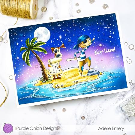 Adelle Emery - Lucas Maxwell Tropical Island - angle