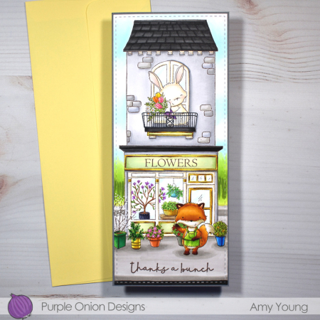 Amy Young - Jane and Junie Flower Shop and Room with a View