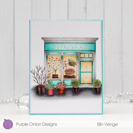 Elin Venge - Junie Flower Shop tri-fold inside