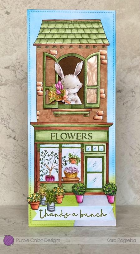 Kara Pogreba -Junie Flower Shop and Room with a View