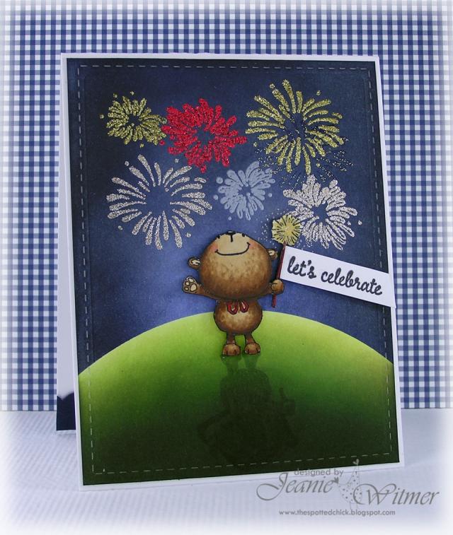 Jeanie Witmer - Bubbly Celebrate Card