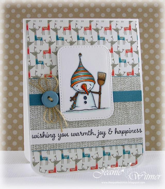 Jeanie Witmer - Snow Card