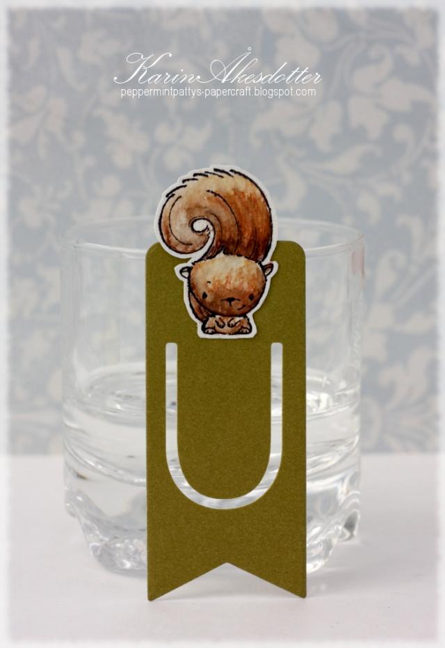 Karin Akesdotter - Peanut Book Mark
