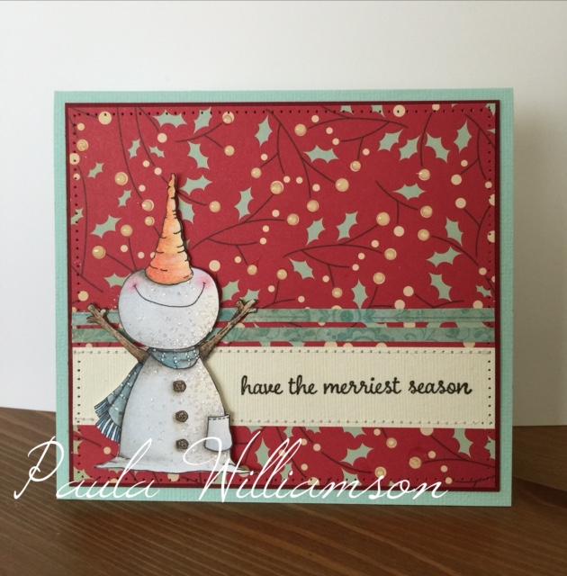 Paula Williamson - Jolly Card