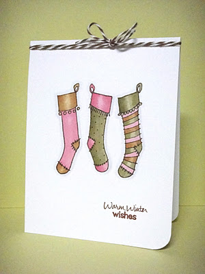 Stockings Warm Winter Wishes