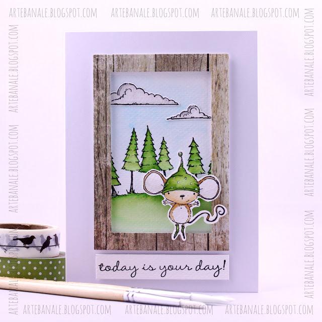 Agnieszka Danek-Wisniak - Holly Today is Your Day Card