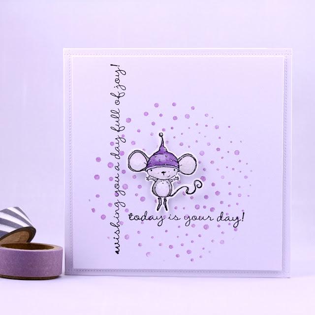 Agnieszka Danek-Wisniak - Holly Today Is Your Day Purple Card