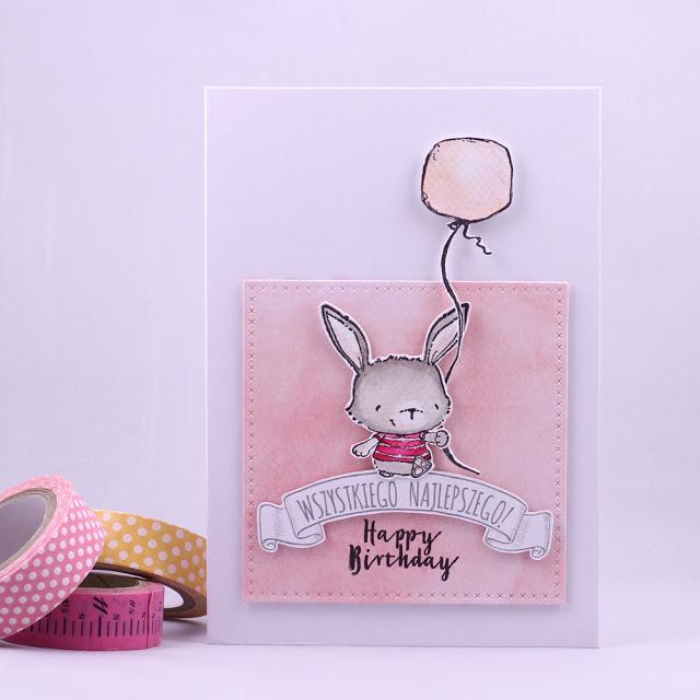 Agnieszka Danek-Wisniak - Willa Balloon Happy Birthday Card