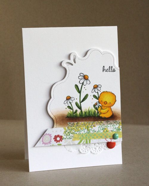 Alice Wertz - Daisy & Blooms Card