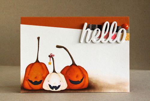 Alice Wertz - Happy Pumpkin Card