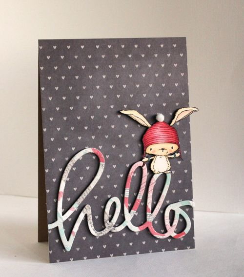 Alice Wertz - Hello Birch Card