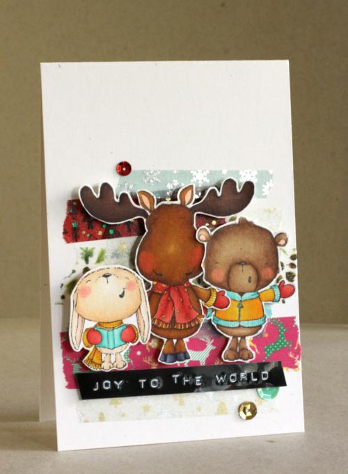Alice Wertz - Snowball, Spruce & Noel Joy to the World