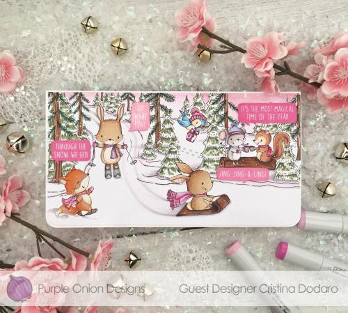 Cristina Dodaro - Winter Trail Ember Jasper Hope with Rory and Noelle - watermark