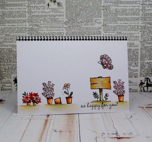 Debra James - Florist Set Card