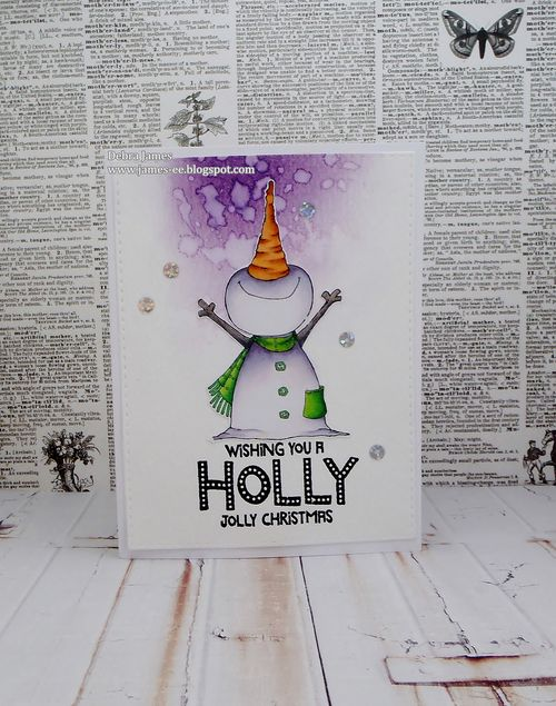 Debra James - Jolly Card