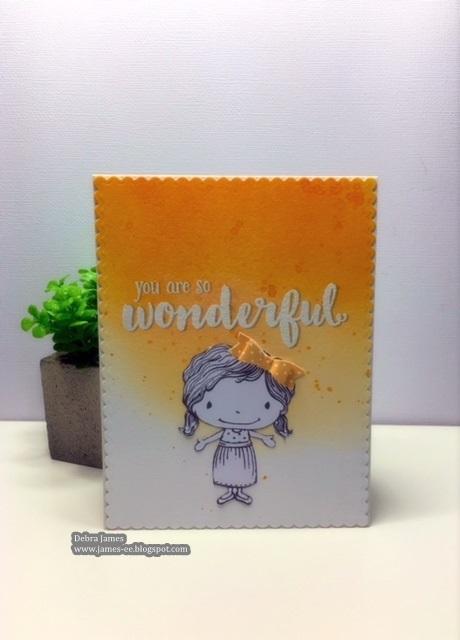 Debra James - Summer You are So Wonderful Card