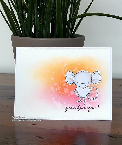 Debra James - Watercolor Heartfelt Card
