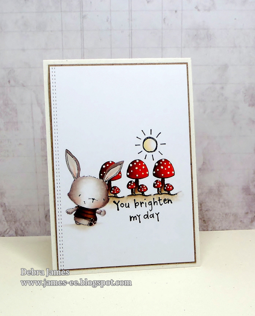 Debra James - Willa You Brighten My Day Card