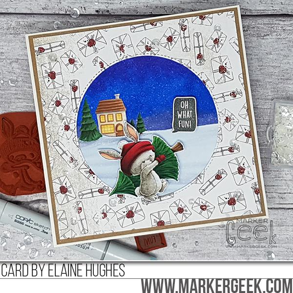 Elaine Hughes-claus-christmas-card