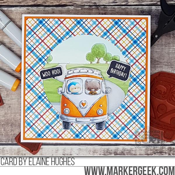 Elaine Hughes - VW Bus